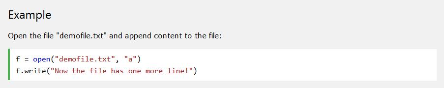 python append file